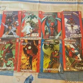 Spider-man     ULTIMATE 厚裝 (14 Books)