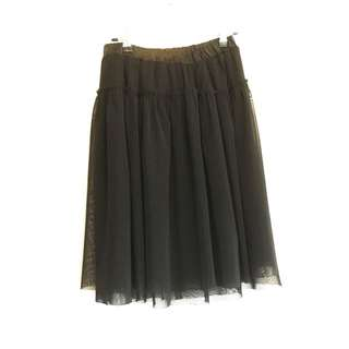 💜Black Mesh Skirt Size 6-8