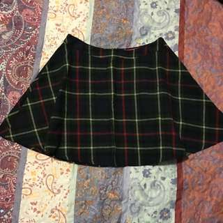 Boohoo Tartan Skirt- Size 10
