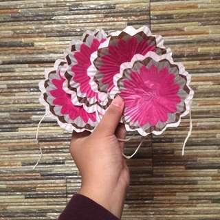 Flower Wall Decor (pink)