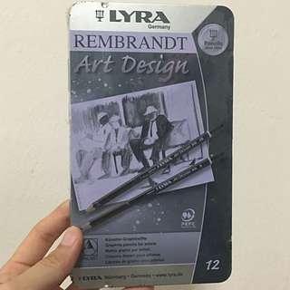Lyra Rembrandt Pencils Set Of 12