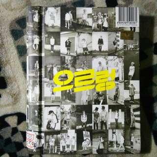 EXO : Growl (1st Album Repacakged, XOXO)