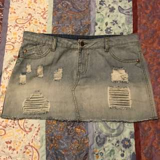 Ally Denim Skirt- Size 12