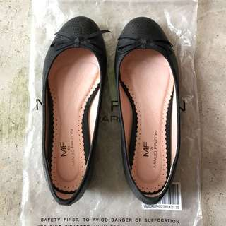 Maud Frizon Black Ballet Flats