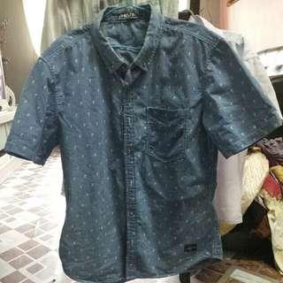 Shibuya Japan Man Denim Shirt
