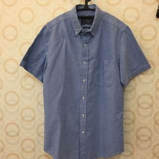 Topman Baby Blue Shirt