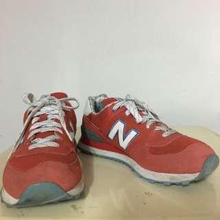 🚚 new balance574 紅色慢跑鞋