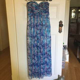 Forever New Silk Dress - Size 10