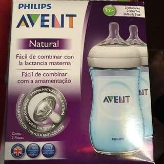 Avent Blue Bottle 2pcs