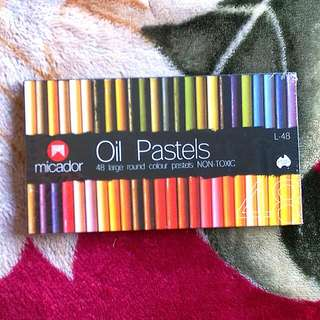 Oil Pastels Non-Toxic 48pkt