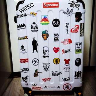 Sticker Waterproof High Quality - Luggage Stickerbomb By Customers ** Grab Bags Available 50/100/200!! :)