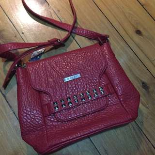 Fiorelli Side/Cross-body Bag in Red