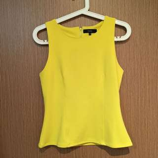 BN MDS Basic Yellow Top (M)