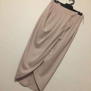 Pale Brown Skirt