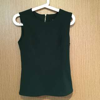 BN MDS Basic Forest Green Top