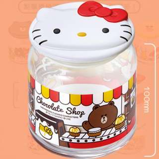 7-11 玻璃樽 Hello Kitty