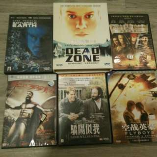 DVD Movies and TV Series All For Hk$150