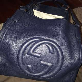 Almost New Gucci Soho Bag