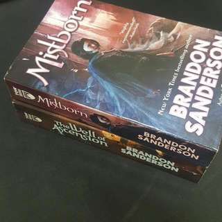 Mistborn & The Well Of Ascension by Brandon Sanderson