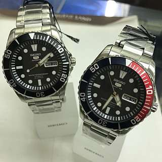 """Seiko """"Sea Urchin"""" - Automatic divers SNZF17K1 and SNZF15K1"""