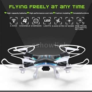 Preorder Hot JJRC H5P /SYMA X5C/X5SC/HR SH5C with 2.0MP HD Camera /JJRC H37/H98/TK110HW  with 0.3MP Camera 2.4G 6 Axis Gyro Headfree One Key Return 3D Roll RC Drone Quadcopter  (PS: More sizes for you, hope you could hug happy every day)