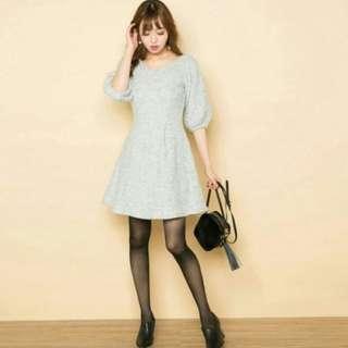 全新轉賣 sasa日本連線   Lilidia無敵霹靂顯瘦有腰身洋裝