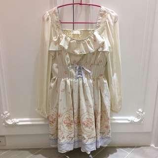 日本品牌Liz Lisa 鐵塔柄薔薇公主洋裝 Liz Lisa
