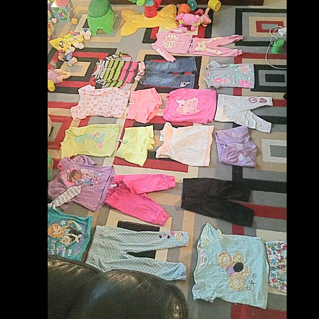 33 Pieces Baby Girls  Lot Size 18-24m And 2T