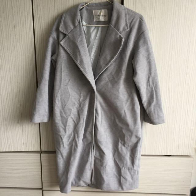 韓國加厚西裝外套