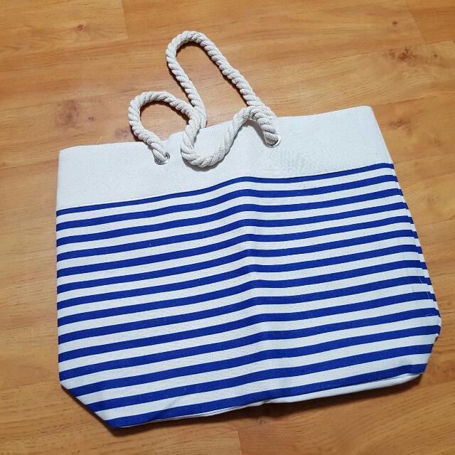 海洋風帆布購物袋