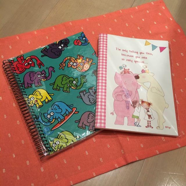 全新可愛筆記本