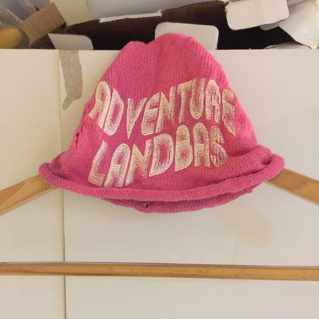 針織手工帽
