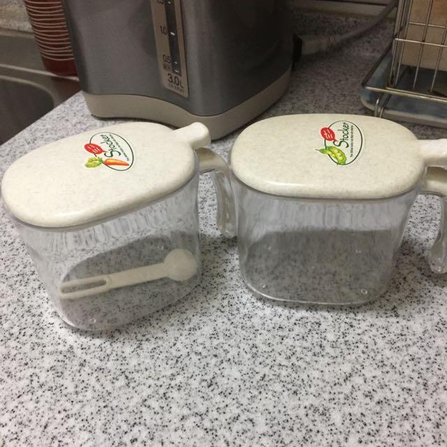 廚房鹽罐/糖罐
