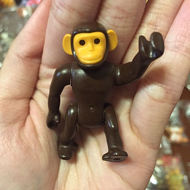 玩具公仔👉 猿人 討喜 可愛