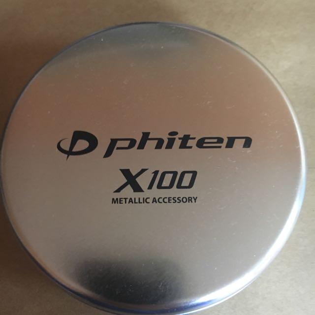 銀谷 Phiten X100倍