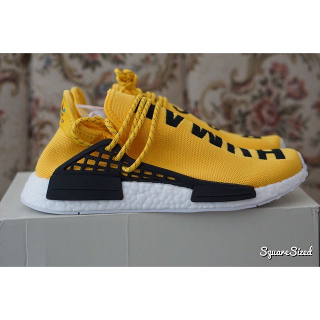 Adidas NMD Pharrel Hu Human Race Yellow US8