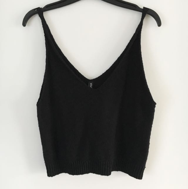 Allabouteve Knitted Singlet Top Size 12
