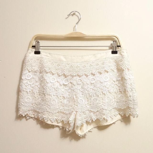 ANON lacy shorts (medium)