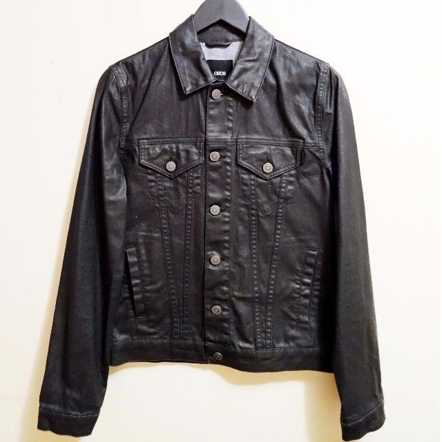 ASOS coated denim jacket
