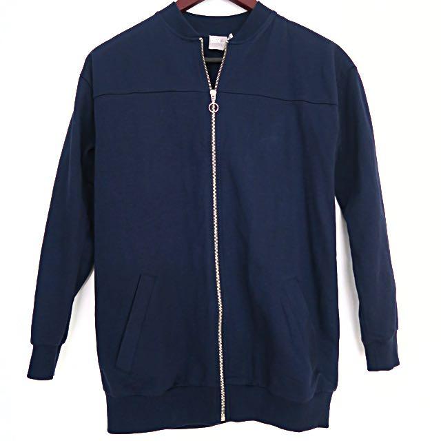 ASOS Navy Bomber Style Jacket