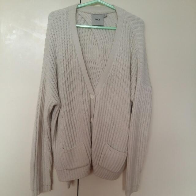 ASOS Oversized Thick Knit Cardigan