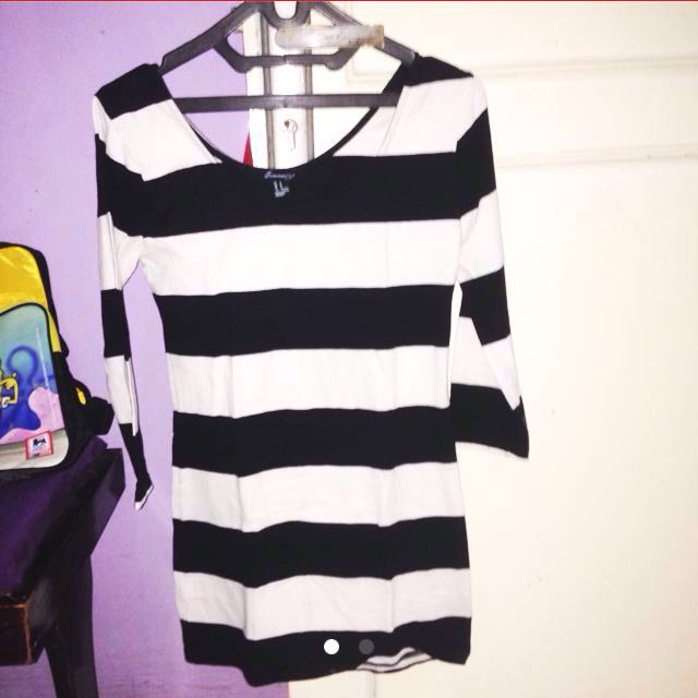 atasan stripe forever21