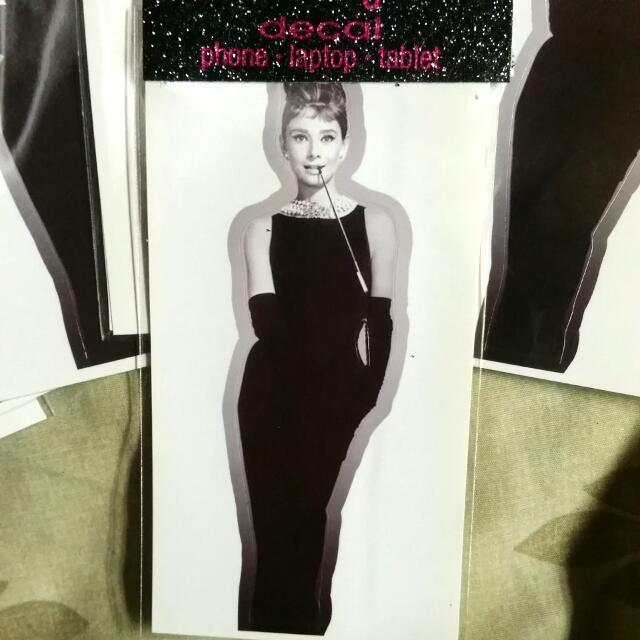 Audrey Hepburn Decals