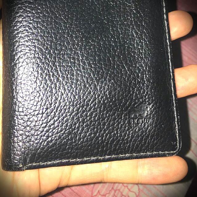 Authentic Braun Buffel leather