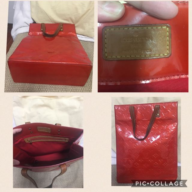 Authentic Louis Vuitton Reade Vernis Tote Bag - OPEN FOR SWAP
