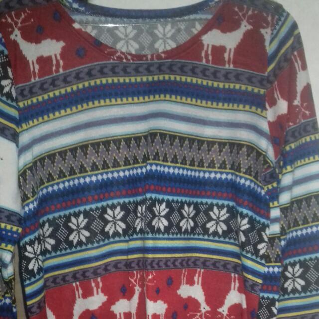 Baju Motif Tribal