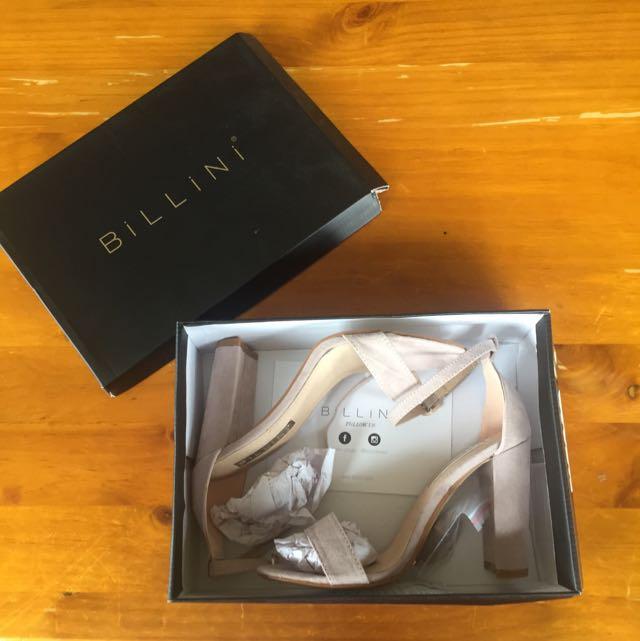 Billini Suede Heels