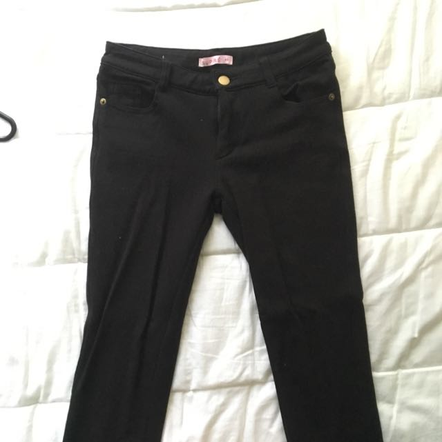 Black Pants Size XS