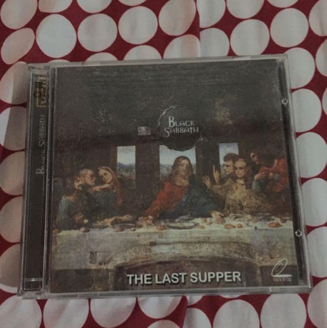 Black Sabbath The Last Supper Vcd