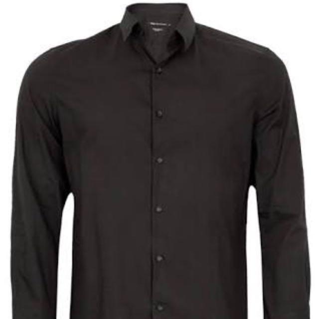 Black Social Shirt